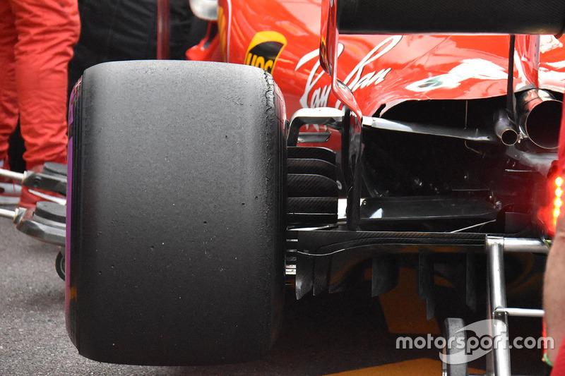 Задняя подвеска Ferrari SF71H