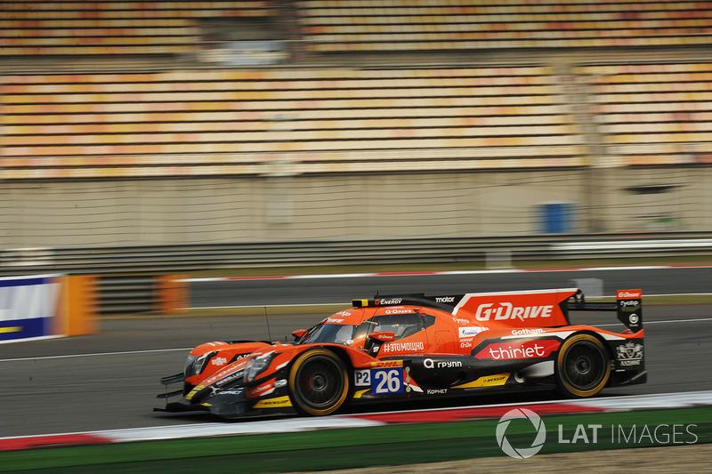 2. LMP2: #26 G-Drive Racing, ORECA 07-Gibson