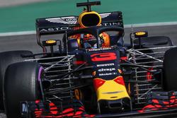 Daniel Ricciardo, Red Bull Racing RB14, con sensores aerodinámicos