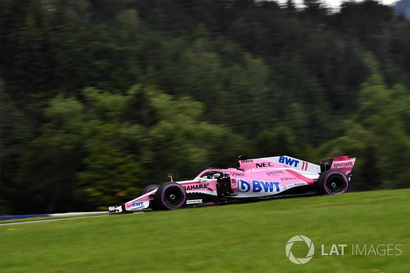 16: Sergio Perez, Force India VJM11, 1'05.279