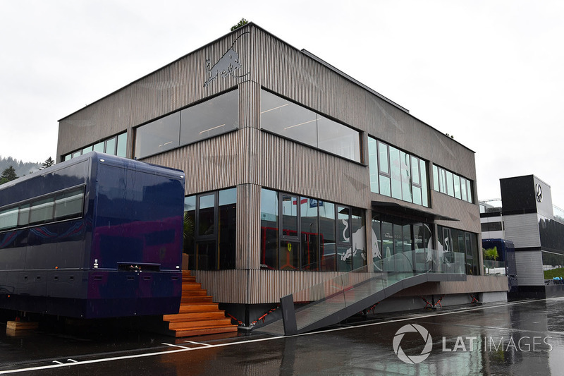 Red Bull Racing motorhome