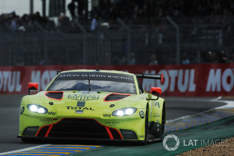 56: #95 Aston Martin Racing Aston Martin Vantage AMR: Marco Sorensen, Nicki Thiim, Darren Turner, 3'53.523