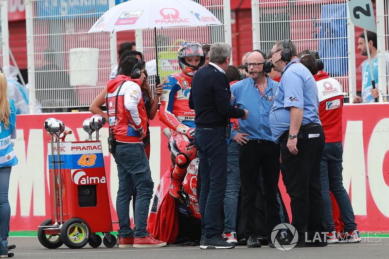 Джек Міллер, Pramac Racing, Майк Вебб, гоночний директор