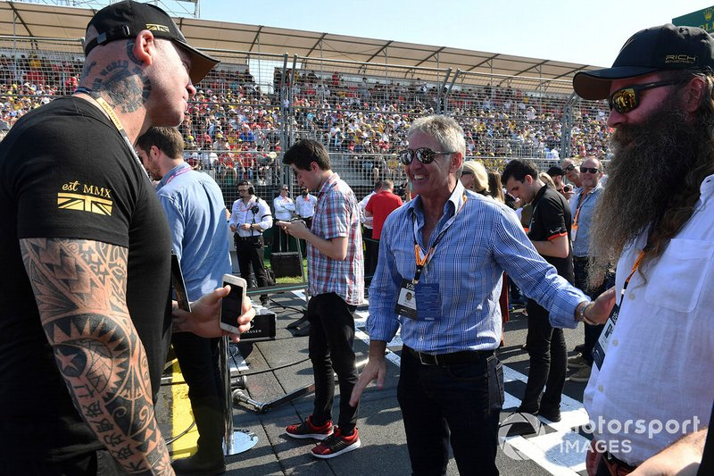 Mick Doohan, Former Heavyweight Boxing Champion Lucas Browne, William Storey, CEO Rich Energy