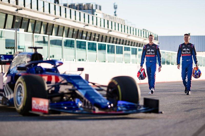 Алекс Албон, Данііл Квят, Scuderia Toro Rosso, Scuderia Toro Rosso STR14