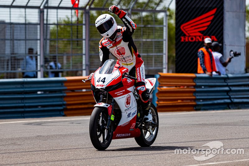 Anish Shetty, Honda Racing India