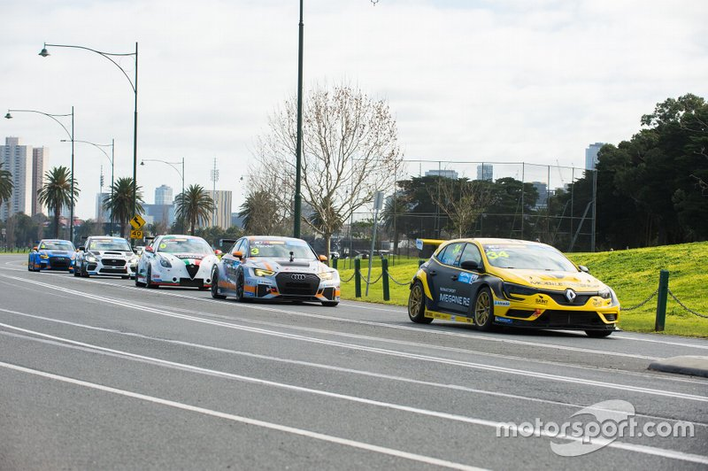 Albert Park TCR Australia launch