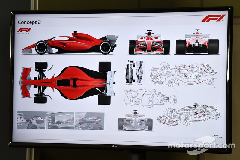 Les concepts de règlement F1 pour 2021