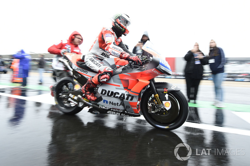 Jorge Lorenzo, Ducati Team, British MotoGP race 2018