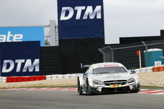 Mick Schumacher in de Mercedes-AMG C63 DTM