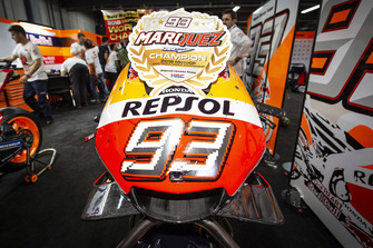 Marc Marquez, Repsol Honda Team bike detail