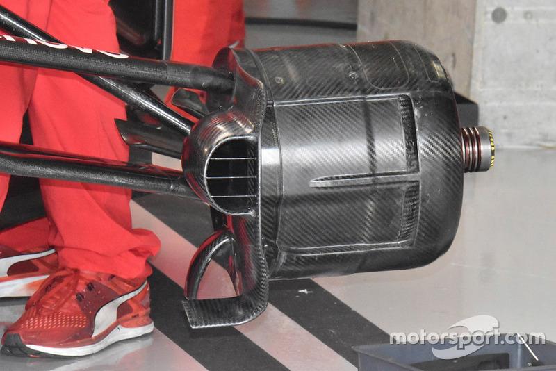 Ferrari SF71H, передні гальма