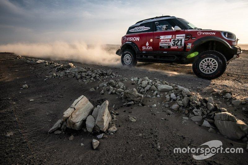 #321 X-Raid Team Mini: Борис Гарафуліч, Філіпе Палмейру