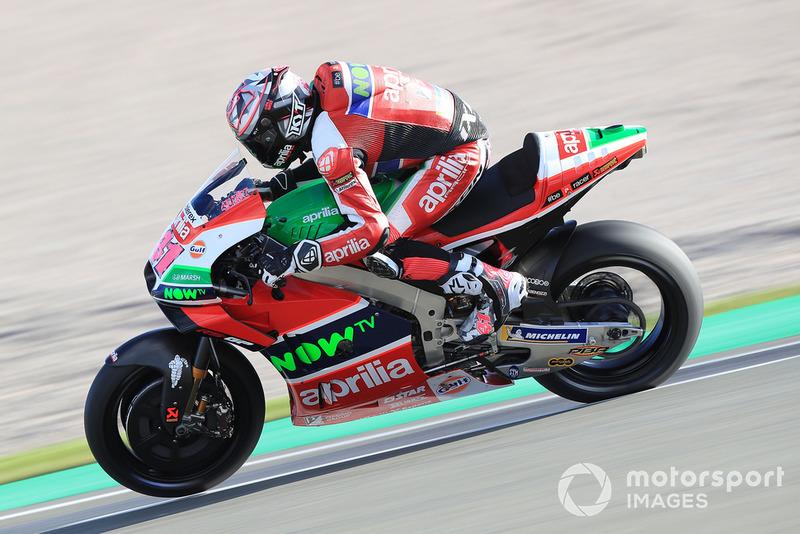 #41 Aleix Espargaro (Spanien) – Aprilia RS-GP (Jahrgang 2019)