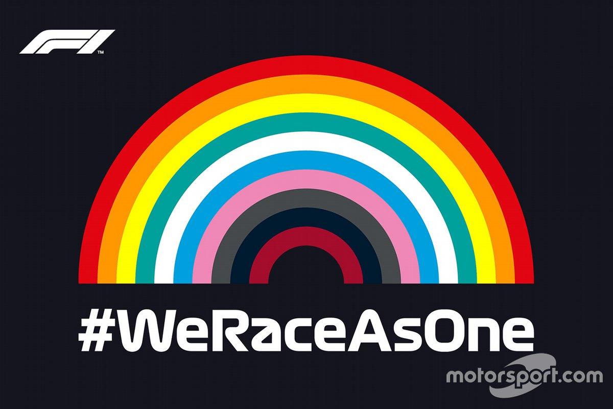 #WeRaceAsOne initiative