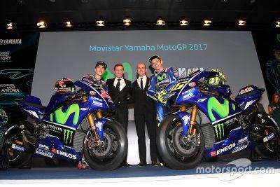 Présentation Yamaha MotoGP