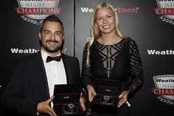 Alessandro Balzan and Christina Nielsen with Tudor Watches