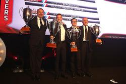2016 Sprint Cup Pro-AM Cup Drivers, Giacomo Piccini, champion, Jean-Luc Beaubelique, 2nd place, Jean-Philippe Belloc, Christophe Bourret, 3rd place