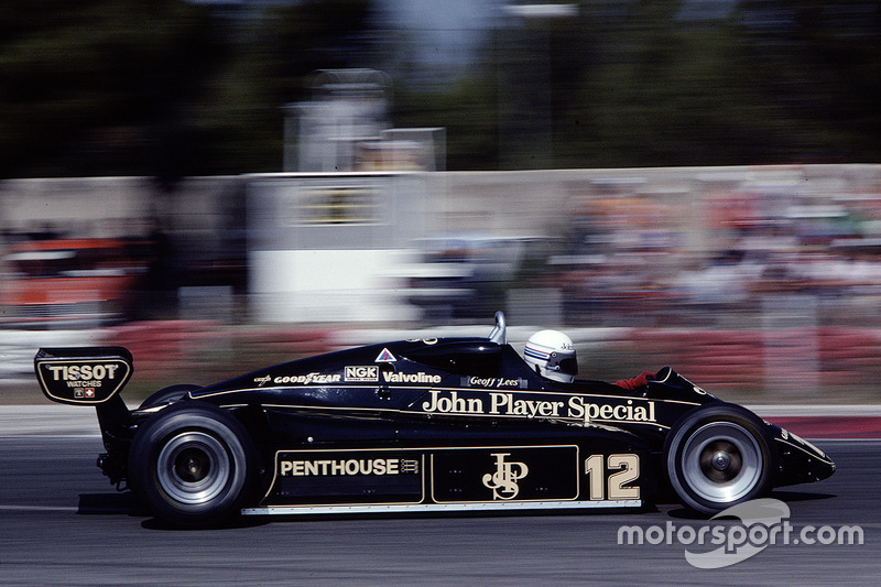 Geoff Lees, Lotus 91 Ford