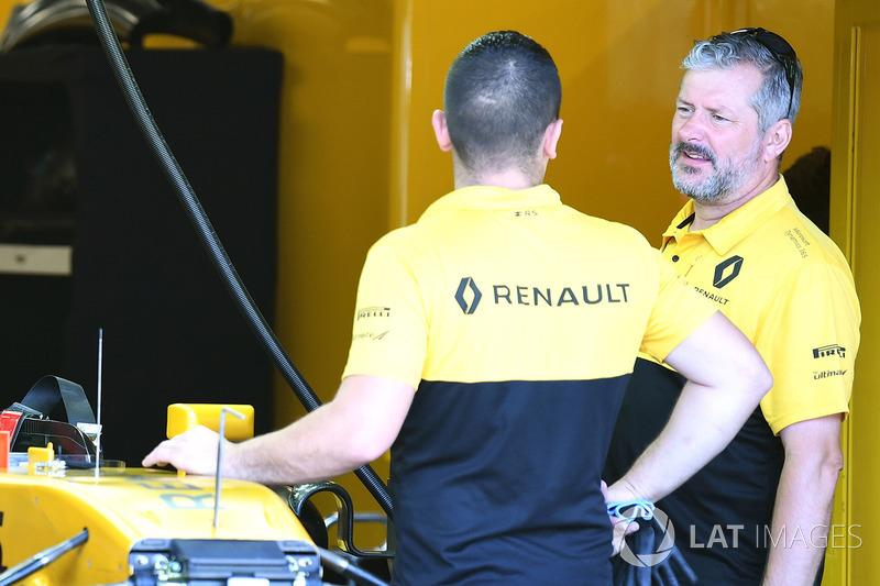 Geoff Simmonds, Renault Sport F1