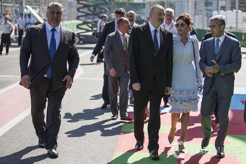 Illham Aliyev, Presidente de Azerbaiyán