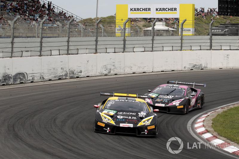 #6 HB Racing WDS Bau, Lamborghini Huracán GT3: Florian Spengler, Christopher Zanella