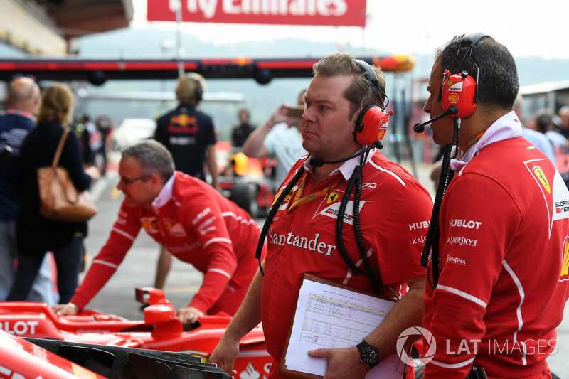 at Formula One World Championship, Rd12, Belgian Grand Prix, Qualifying, Spa Francorchamps, Belgium, Saturday 26 August 2017.