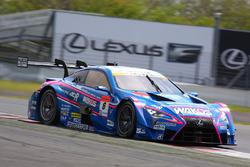 #6 Team LeMans Lexus LC500: Kazuya Oshima, Andrea Caldarelli