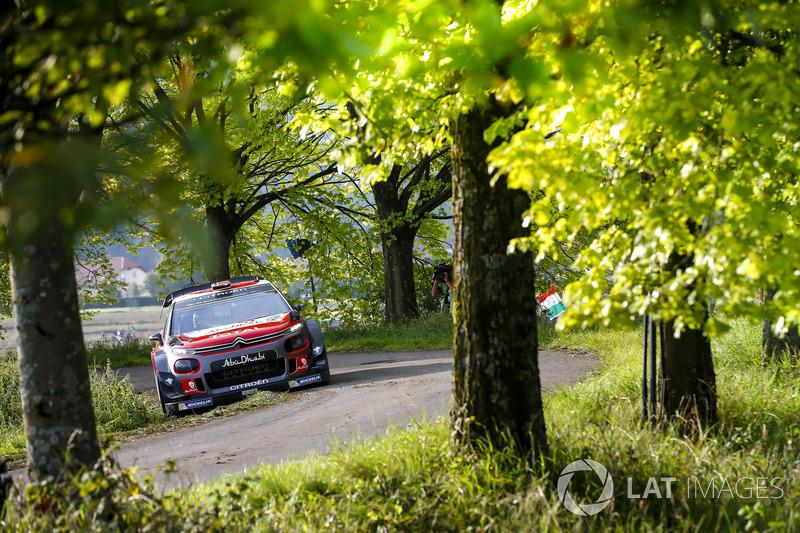 Андреас Миккельсен и Андерс Егер, Citroën C3 WRC