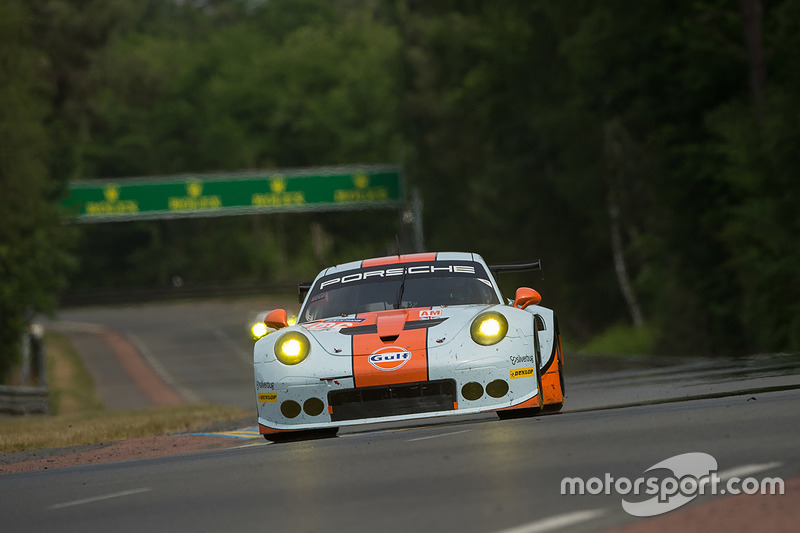10. LMGTE-Am: #86 Gulf Racing, Porsche 911 RSR