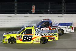 Matt Crafton, ThorSport Racing Toyota and Camden Murphy, Ronald McDonald House Charities Chevrolet Silverado