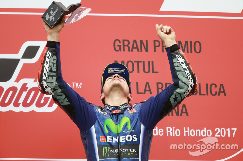 Podium: 1. Maverick Viñales, Yamaha Factory Racing