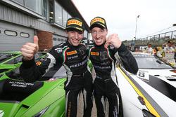 Race winners Christian Engelhart, Mirko Bortolotti, GRT Grasser Racing Team