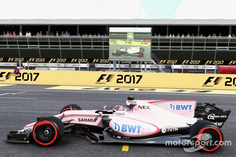 El Force India en Monza