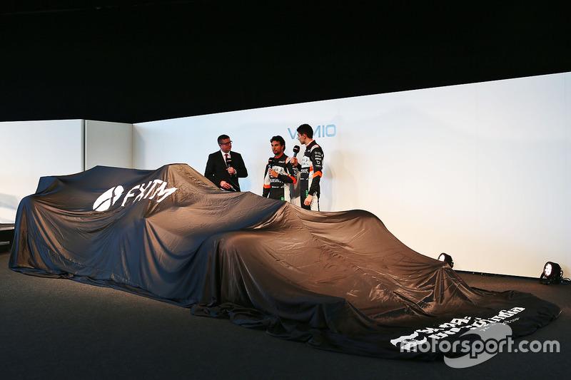 David Croft stelde Sergio Perez en Esteban Ocon een paar vragen: