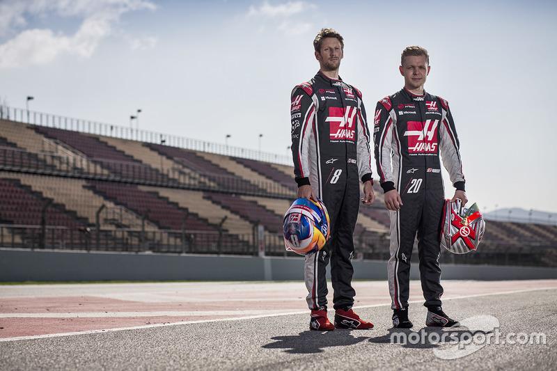 Pilotos 2017: Romain Grosjean y Kevin Magnussen