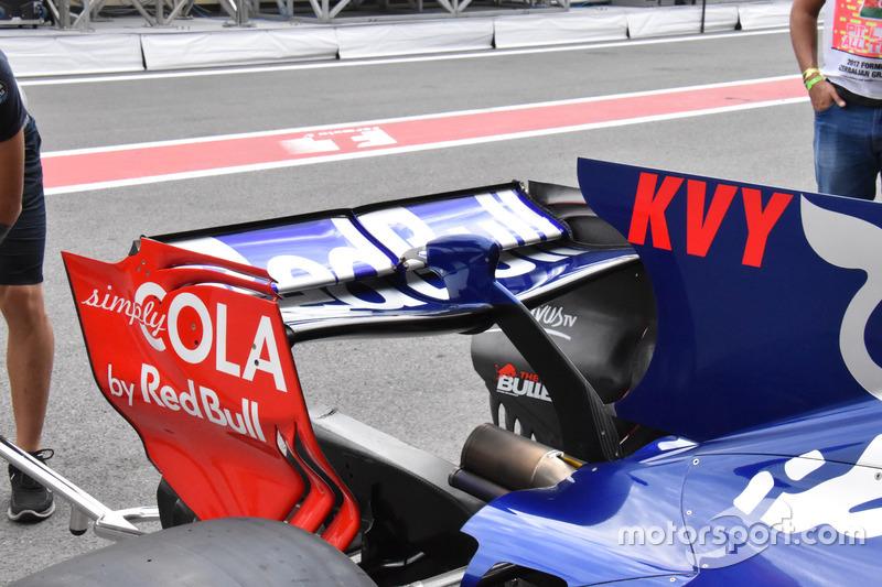 Scuderia Toro Rosso STR12, rear wing