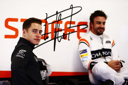 Stoffel Vandoorne y Fernando Alonso, McLaren