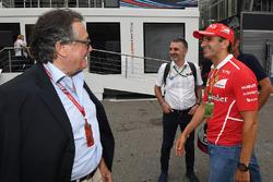 Джанкарло Мінарді, Марк Жене, Ferrari
