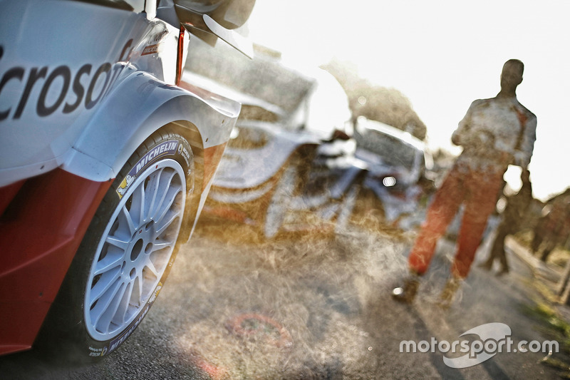 Toyota Racing Toyota Yaris WRC detail