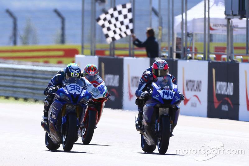 Sheridan Morais, Kallio Racing; Lucas Mahias, GRT Yamaha Official WorldSSP Team