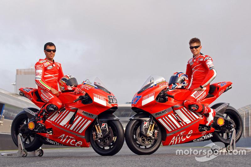 Ducati Desmosedici 2007 - Loris Capirossi ve Casey Stoner