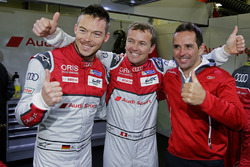 Pole position pour Marcel Fässler, Andre Lotterer, Benoit Tréluyer, Audi Sport Team Joest