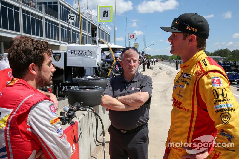 Ryan Hunter-Reay, Andretti Autosport Honda, Marco Andretti, Andretti Autosport Honda