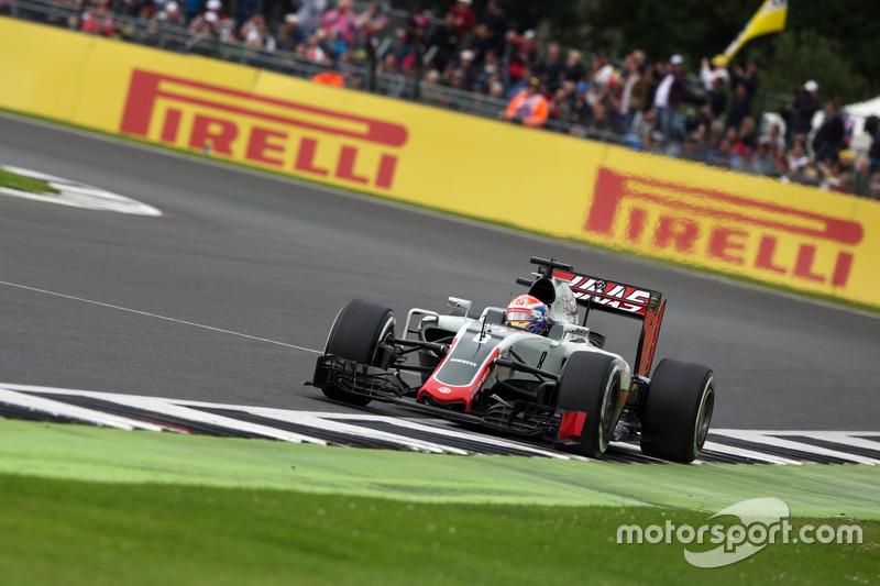 Ausgefallen: Romain Grosjean, Haas F1 Team VF-16