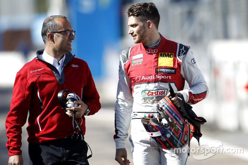 إدواردو مورتارا، أودي مع مهندس