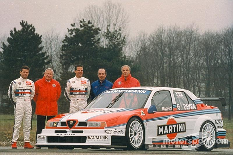 Презентація команди Alfa Corse Martini Racing з Алессандро Нанніні та Ніколою Ларіні