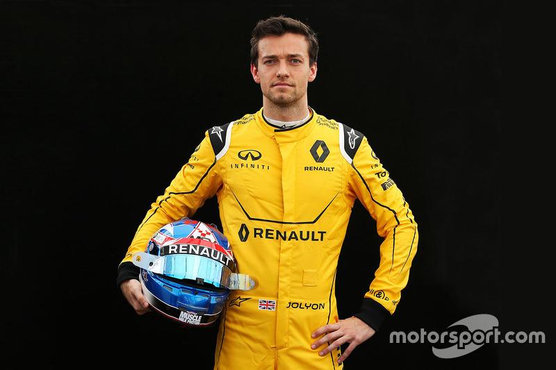 #30 Jolyon Palmer, Renault Sport F1 Team