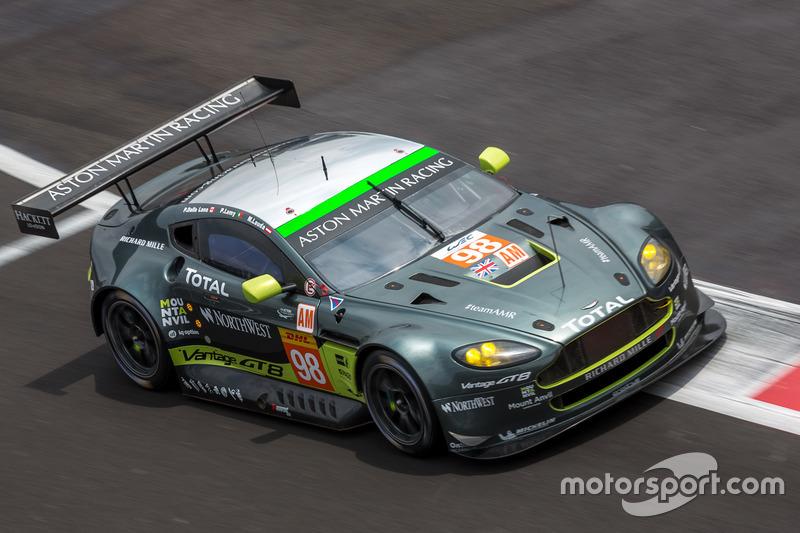 #98 Aston Martin Racing Aston Martin Vantage GTE: Paul Dalla Lana, Pedro Lamy, Mathias Lauda
