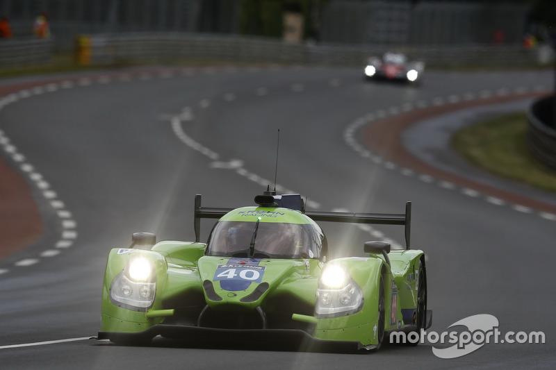 59: #40 Krohn Racing Ligier JS P2 Nissan: Tracy Krohn, Nic Jonsson, Joao Barbosa